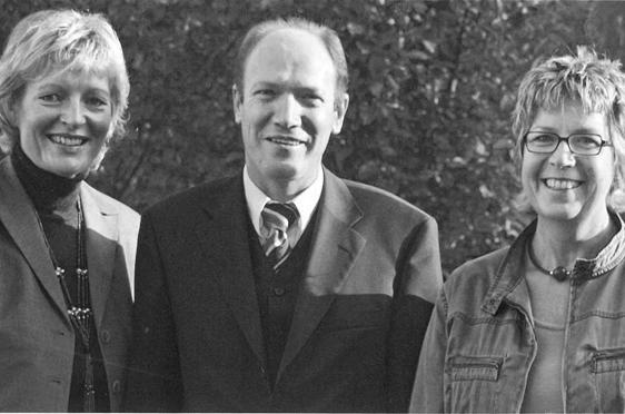 KWA Club geht 2004 an den Start - hier die Initiatoren von li.: Barbara Schug, Horst Schmieder und Karin Ihringer