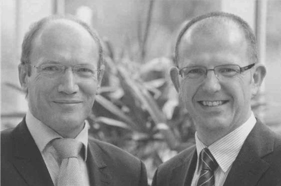 Im September 2008 wurde Dr. Stefan Arend (rechts) in den KWA Vorstand berufen, an die Seite von Horst Schmieder