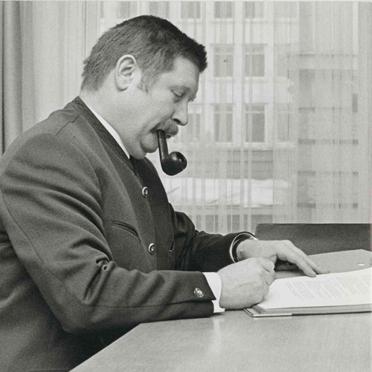 Jurist Hermann Beckmann: Er führte die Geschäfte des Unternehmens bis 1996