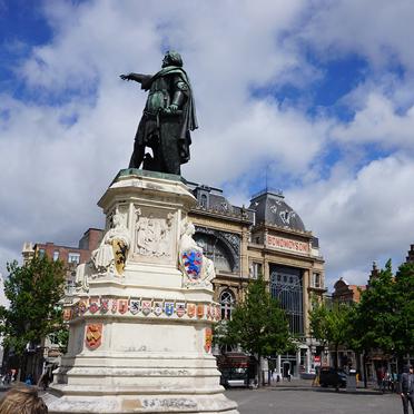 Gent ist – nach Antwerpen – die zweitgrößte Stadt in Flandern