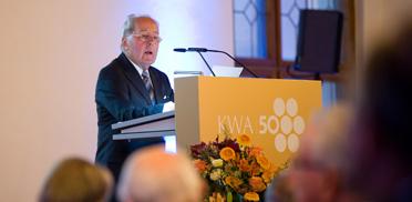 Friedrich Wilhelm Moll, Stiftsbewohner und Stiftsbeiratsvorsitzender im KWA Stift am Parksee