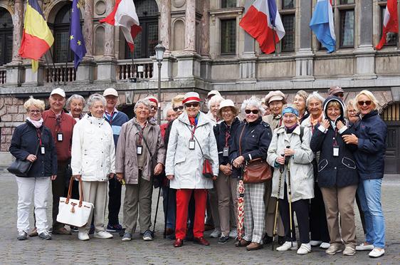 Die KWA-Reisegruppe in Antwerpen