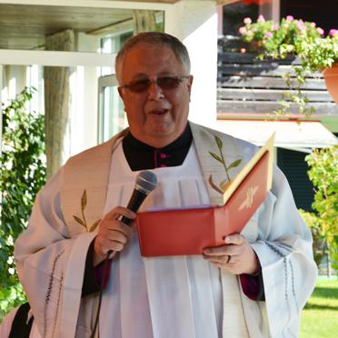Dekan Monsignore Walter Waldschütz, 45 Jahre KWA Stift Rupertihof
