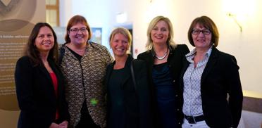 Mitarbeiterinnen des KWA Bildungszentrums Pfarrkirchen