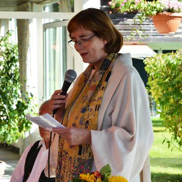 Pastoralreferentin Angelika Stauber (Seniorenseelsorgerin), 45 Jahre KWA Stift Rupertihof