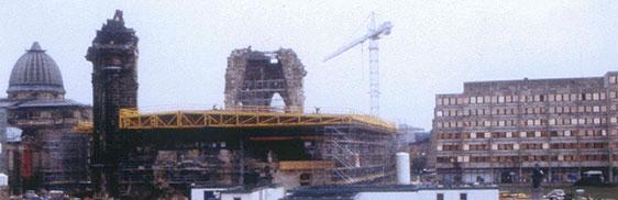November 1996: Dachstellung 1