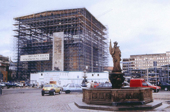 Mai 2000: Dachstellung 4
