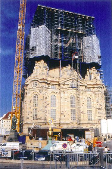 Südfassade, Dachstellung 6 (Dez. 2002)