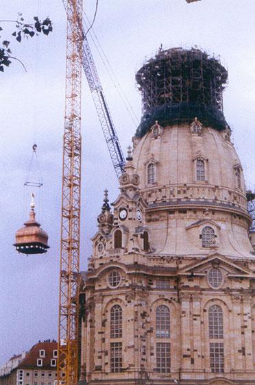 Hebevorgang (22. Juni 2004)