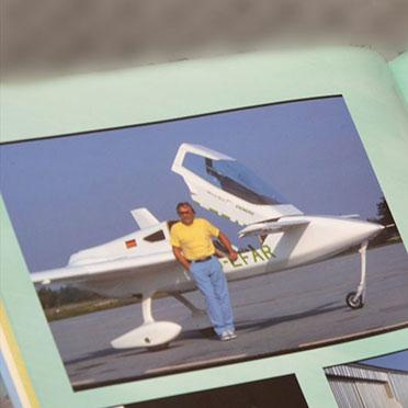 So gut ihm das Autofahren gefiel: Irgendwann wollte Roland Heier dann auch fliegen ...