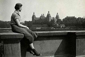 Margareta als junge Frau – Aschaffenburg 1933