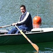 Auch wenn das Netz noch leer ist: Die Fischer vom Rupertihof genießen die Zeit auf dem Tegernsee von der ersten bis zur letzten Minute