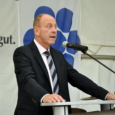 Bernd Tischler, Oberbürgermeister der Stadt Bottrop