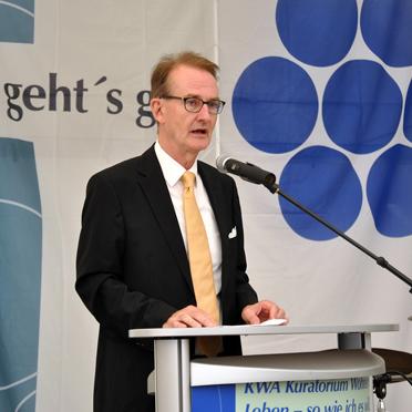 Prof. Dr. Ekkehart Meroth (Stv. KWA Aufsichtsratsvorsitzender)