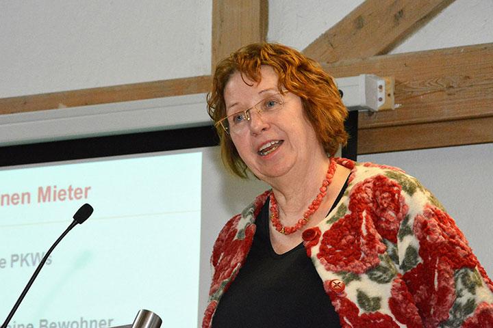 Dr. Sibylle Meyer, Leiterin des SIBIS Instituts für Sozialforschung und Projektberatung in Berlin