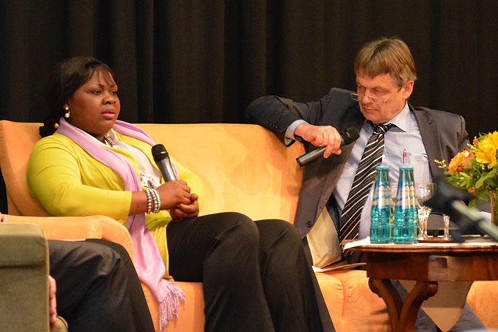 Gesprächsrunde beim KWA Symposium 2016 in München