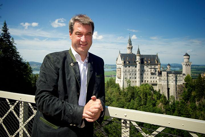 Markus Söder, Bayerischer Staatsminister der Finanzen, für Landesentwicklung und Heimat