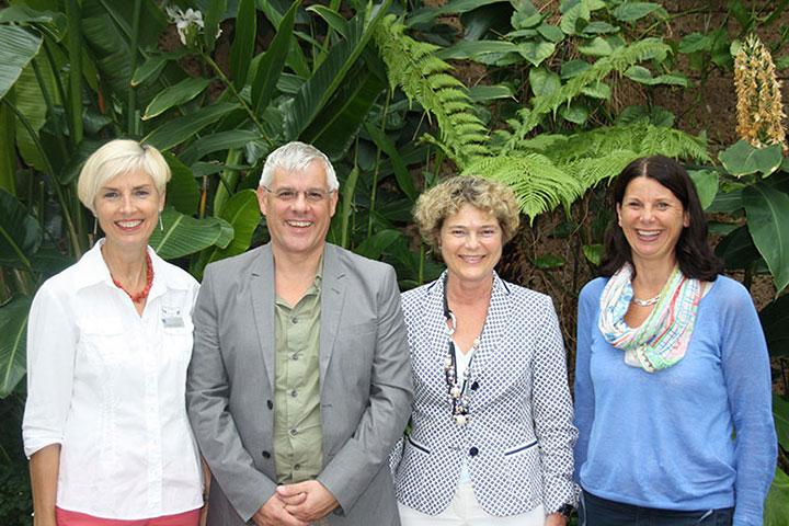PfLair-Mitglieder von links: Gisela Hüttis, André Schinck, Ursula Cieslar, Barbara Mallmann