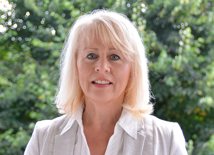 Chefredakteurin Sieglinde Hankele