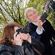 An hübschen Motiven fehlte es den Fotografinnen sicherlich nicht ...