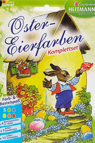 Bastelpackung im Nostalgie-Look.