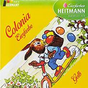 """Ein Klassiker von Heitmann: """"Colonia Eierfarben"""" – Heißfärbe-Blättchen."""
