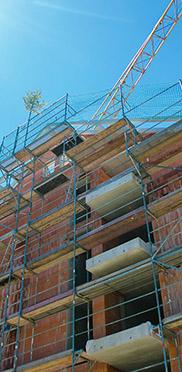Der Erweiterungsbau der KWA Klinik Stift Rottal macht große Fortschritte.