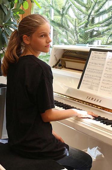 Auch am Piano wird gejazzt.