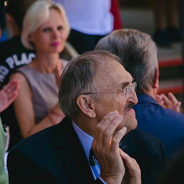 Der ehemalige Chefarzt, Dr. Christoph Garner, war selbstverständlich auch unter den Gästen.