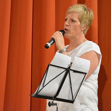 Sängerin Andrea Wurm aus Aalen: Sie leitet den Bereich Hauswirtschaft bei KWA.